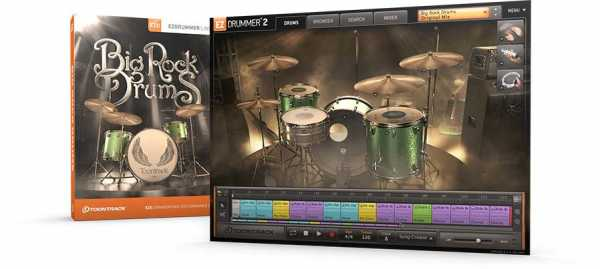 EZX2 Big Rock Drums v1.0.1 WiN MAC R2R | Images From Magesy® R Evolution™
