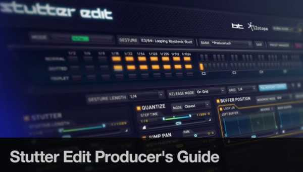 Stutter Edit Producers Guide TUTORiAL | Images From Magesy® R Evolution™
