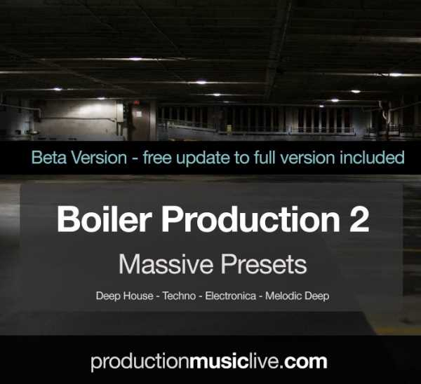 Boiler Presets 2 For MASSiVE NMSV TZ Group | Images From Magesy® R Evolution™