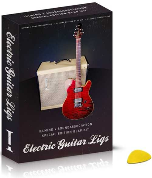 Electric Guitar Liqs WAV | Images From Magesy® R Evolution™