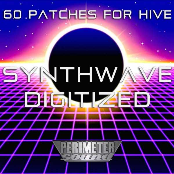 Synthwave Digitized Presets For U he Hive H2P | Images From Magesy® R Evolution™
