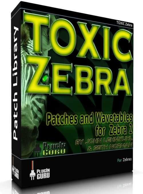 TOXIC Zebra Patches and Wavetables for U he Zebra2 H2P TZ Group   Images From Magesy® R Evolution™