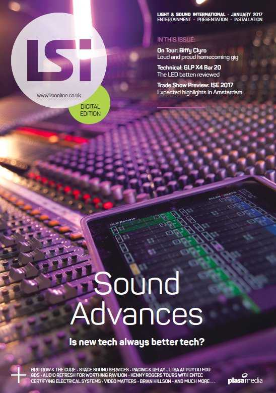 Lighting and Sound International   January 2017 | Images From Magesy® R Evolution™