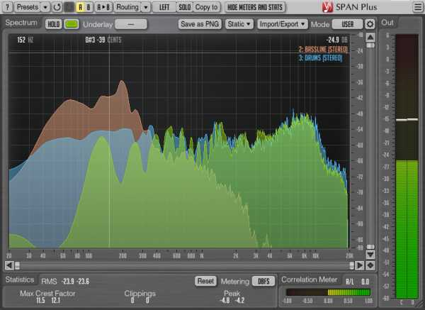 SPAN Plus v1.9.0 AU AAX VST VST3 x86 x64 WiN MAC R2R | Images From Magesy® R Evolution™