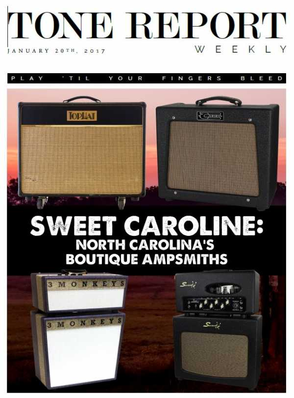 Tone Report Weekly   Issue 163, January 20 2017 | Images From Magesy® R Evolution™