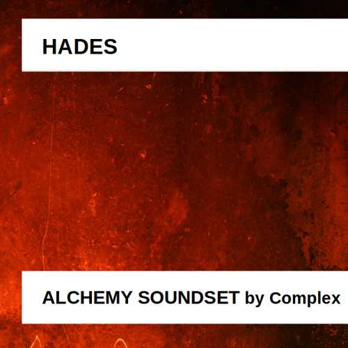 Hades Alchemy Soundset TZ Group | Images From Magesy® R Evolution™