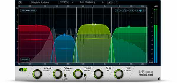 Cakewalk L Phase Multiband Compressor WiN MAC R2R   Images From Magesy® R Evolution™