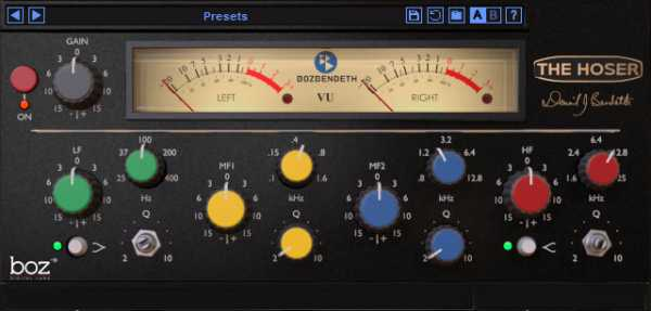 The Hoser v1.0.11 VST2 VST3 RTAS AAX x86 x64 WiN HY2ROG3N | Images From Magesy® R Evolution™