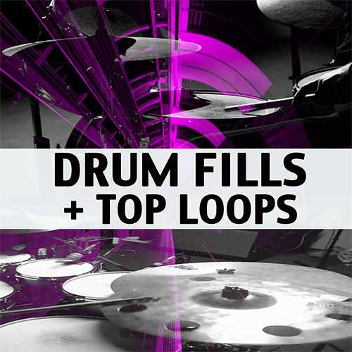Drum Fills + Top Loops WAV | Images From Magesy® R Evolution™