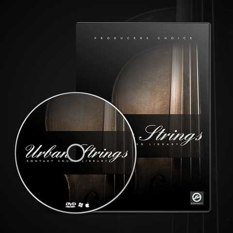 Urban Strings Sample Library WAV AiFF KONTAKT PiRAT | Images From Magesy® R Evolution™