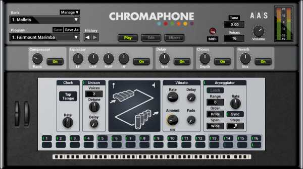 Chromaphone v2.1.3 AU AAX VST RTAS STANDALONE WiN MAC | Images From Magesy® R Evolution™