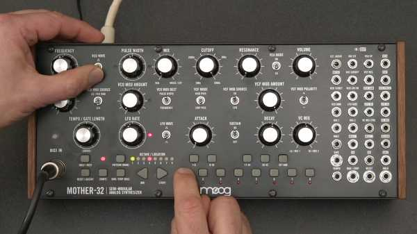 Learning Modular Synthesis: Moog Mother 32 Semimodular Synth TUTORiAL | Images From Magesy® R Evolution™