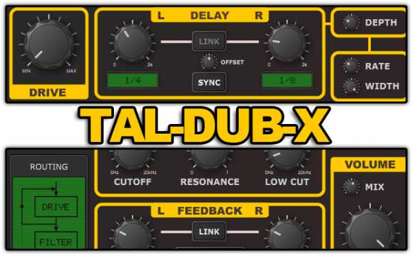 TAL Dub X v1.5.1 WiN MAC R2R   Images From Magesy® R Evolution™