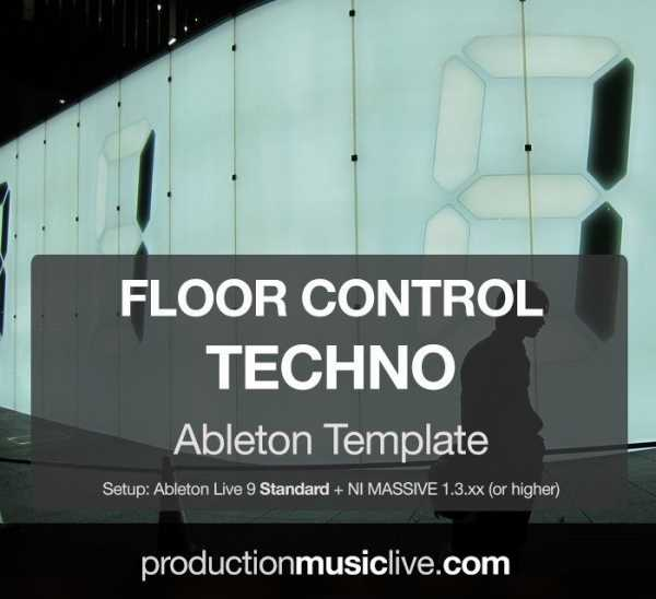 Floor Control Techno Ableton Template FXP NMSV ALS SYNTHiC4TE | Images From Magesy® R Evolution™