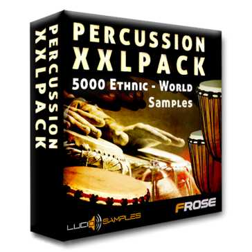 Percussion XXL Pack World and Ethnic WAV | Images From Magesy® R Evolution™