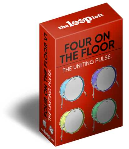 Four On The Floor Vol.1 WAV | Images From Magesy® R Evolution™