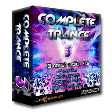 Complete Trance Vol.3 WAV | Images From Magesy® R Evolution™
