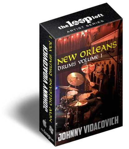 New Orleans Drums Vol.1 MULTiFORMAT | Images From Magesy® R Evolution™
