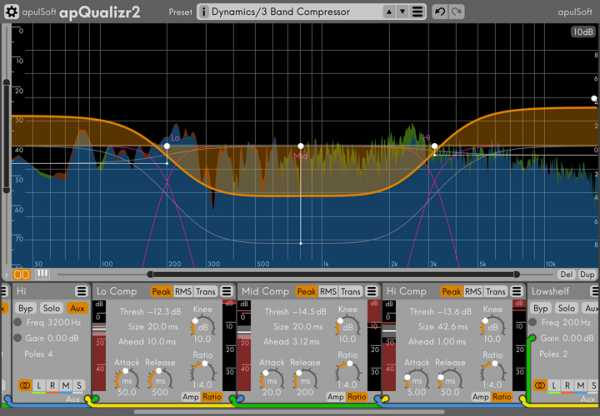 apQualizr v2.2.2 AU AAX VST VST3 x86 x64 WiN MAC R2R | Images From Magesy® R Evolution™