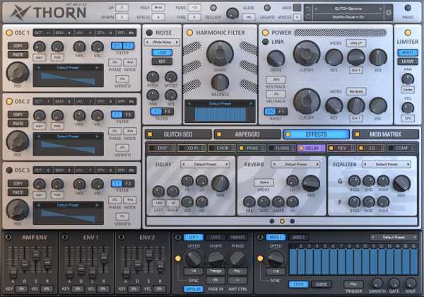 Thorn v1.0.6 AU AAX VSTi VST3 32Bit 64Bit WiN MAC UNiON | Images From Magesy® R Evolution™