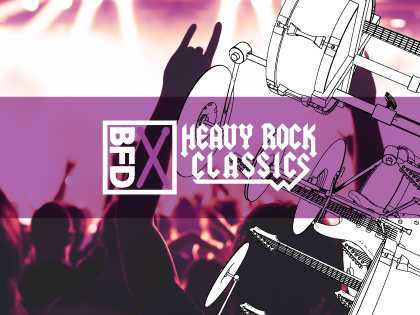 Heavy Rock Classics Groove Pack for BFD3 | Images From Magesy® R Evolution™