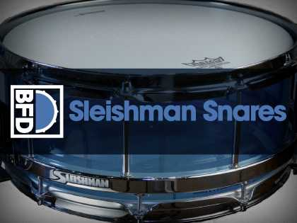BFD Sleishman Snares V.R | Images From Magesy® R Evolution™