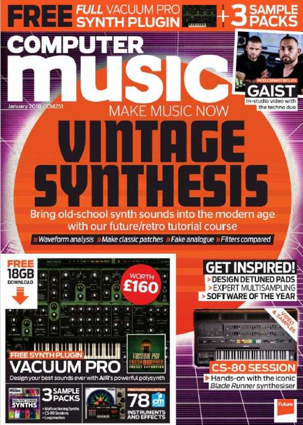 Computer Music   January 2018 | Images From Magesy® R Evolution™