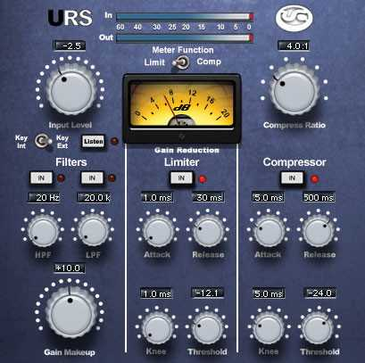 URS Classic Console Compressors Bundle v1.1 AU VST RTAS TDM MAC OSX INTEL | Images From Magesy® R Evolution™