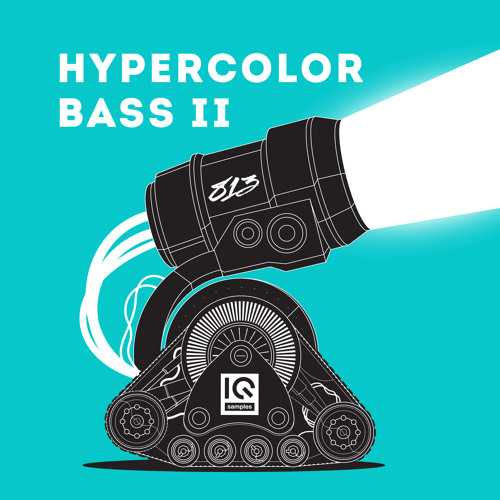 Hypercolor Bass 2 WAV MiDi | Images From Magesy® R Evolution™