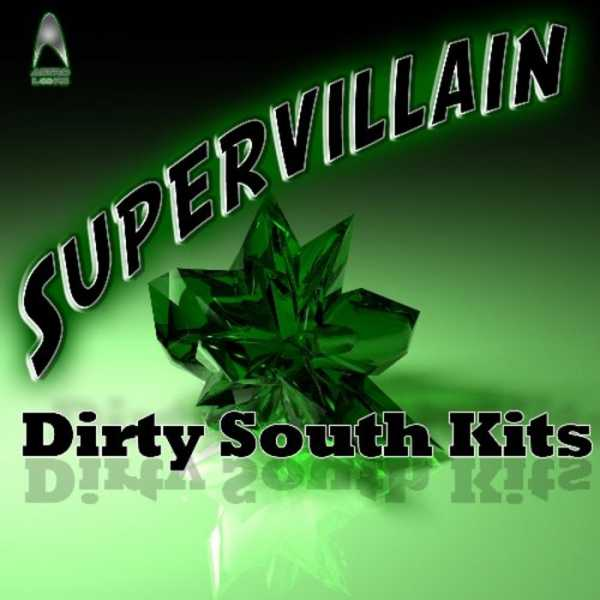 Supervillain Dirty South Kits WAV MiDi REX | Images From Magesy® R Evolution™