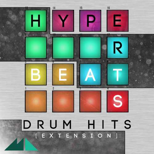 Hyper Beats Drum Hits MULTiFORMAT MAGNETRiXX | Images From Magesy® R Evolution™