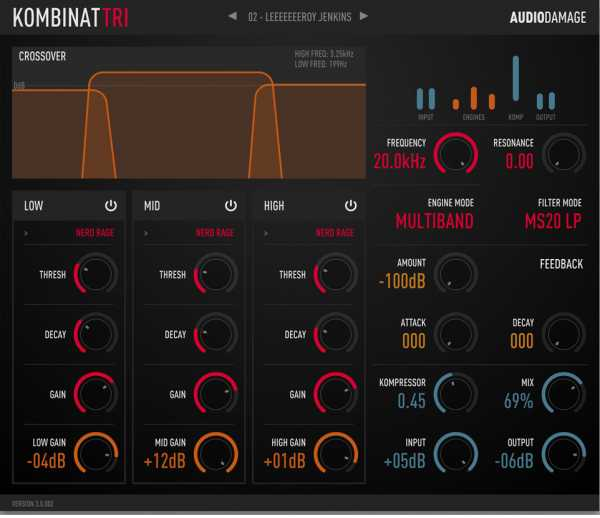 Kombinat Tri v3.0.3 WiN MAC RETAiL SYNTHiC4TE   Images From Magesy® R Evolution™