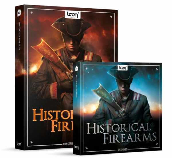 Historical Firearms Bundle WAV | Images From Magesy® R Evolution™