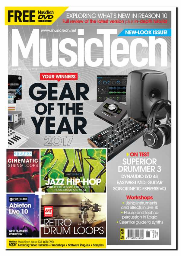 MusicTech January 2018 PDF | Images From Magesy® R Evolution™