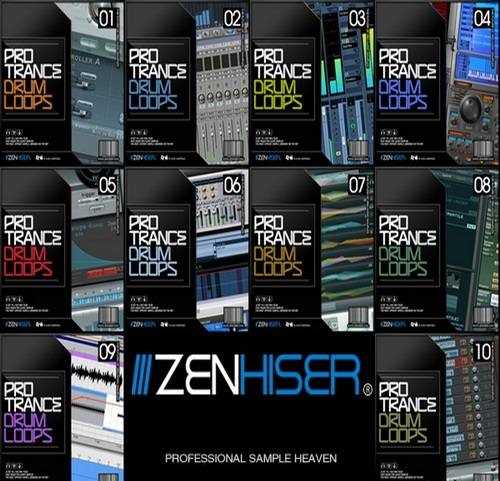 Pro Trance Drum Loops MULTiPACK Vol.1 10 WAV AudioP2P | Images From Magesy® R Evolution™