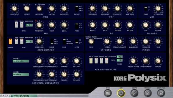 KORG Polysix v1.4.2 STANDALONE VSTi x86 x64 WiN HAPPY NEW YEAR R2R | Images From Magesy® R Evolution™