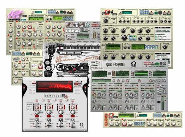 Ohm Force Bundle Rev.4 AAX AU VST MAC OSX AiR   Images From Magesy® R Evolution™