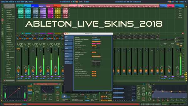 Ableton Live Skins 2018 | Images From Magesy® R Evolution™