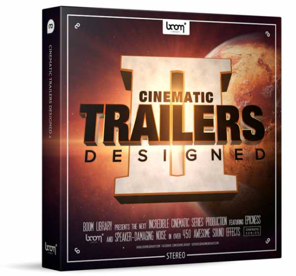 Cinematic Trailers Designed 2 Stereo and Surround WAV | Images From Magesy® R Evolution™