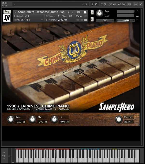 Japanese Chime Piano KONTAKT | Images From Magesy® R Evolution™