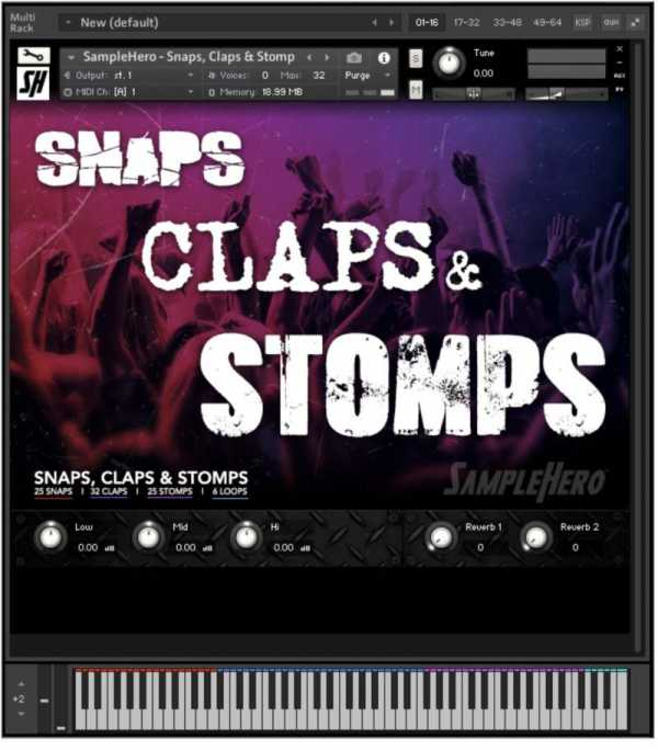 Snaps, Claps and Stomps KONTAKT | Images From Magesy® R Evolution™