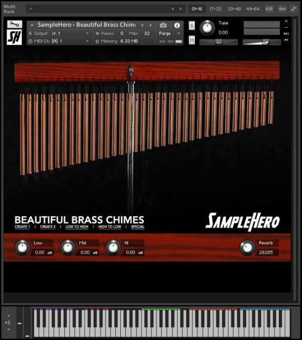 Beautiful Brass Chimes KONTAKT | Images From Magesy® R Evolution™