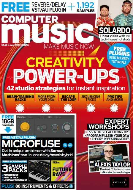 Computer Music   June 2018 | Images From Magesy® R Evolution™