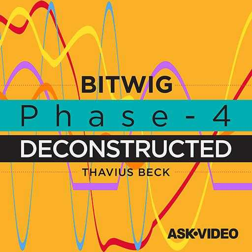 Phase 4 Deconstructed Bitwig Studio 2 TUTORiAL SYNTHiC4TE | Images From Magesy® R Evolution™