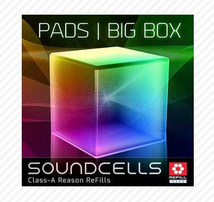 Pads: The BIG Box REASON REFiLL DECiBEL | Images From Magesy® R Evolution™