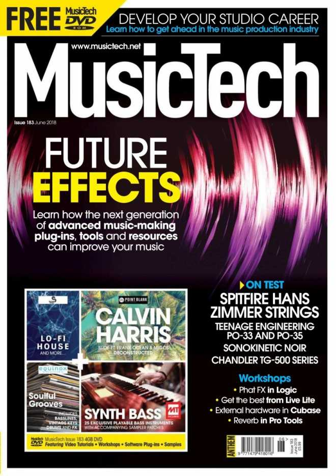 MusicTech   June 2018 | Images From Magesy® R Evolution™