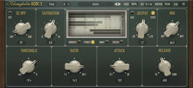 DC8C Advanced Compressor v3.2.2 WiN MAC SYNTHiC4TE | Images From Magesy® R Evolution™