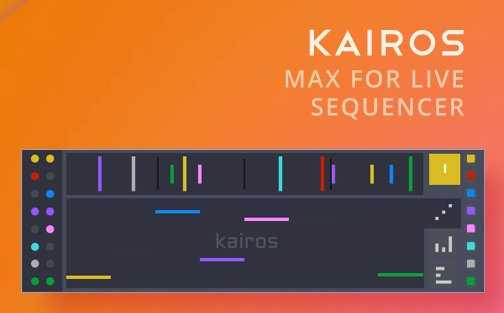 Kairos Sequencer MAX For LiVE | Images From Magesy® R Evolution™