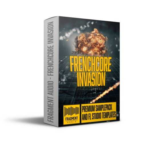 Frenchcore Invasion WAV FL Studio Templates   Images From Magesy® R Evolution™
