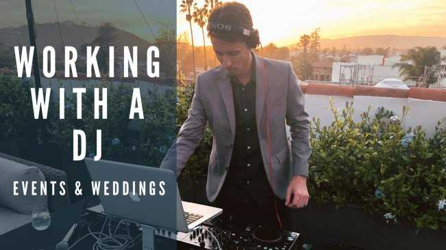Working with a DJ Events and Weddings TUTORiAL | Images From Magesy® R Evolution™